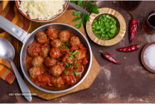 Meat Balls With A Spicy Kick