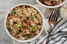 Chicken and Mushroom Pulao