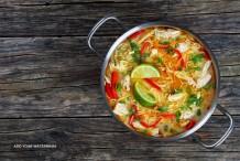 Spicy Thai Chicken Noodles Recipe